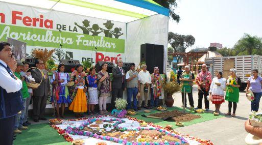 """HOY SE INICIA LA """"I ECOFERIA NACIONAL AGRICULTURA FAMILIAR 2016"""""""