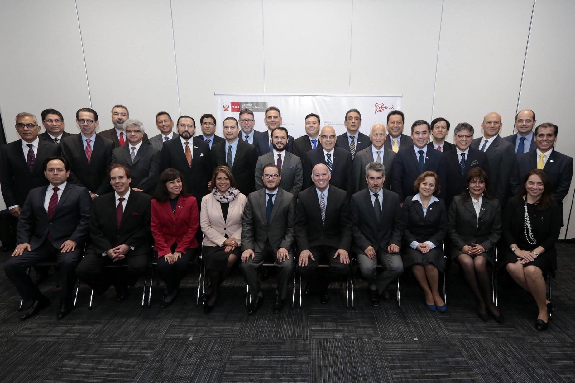 Mincetur elabora Plan de Promoción de las Oficinas Comerciales del Perú en el Exterior con sus 31 ...
