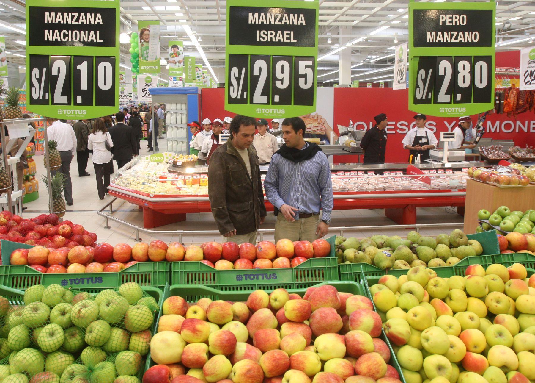 Productores venden sin intermediarios a supermercado 700 variedades de frutas y verduras