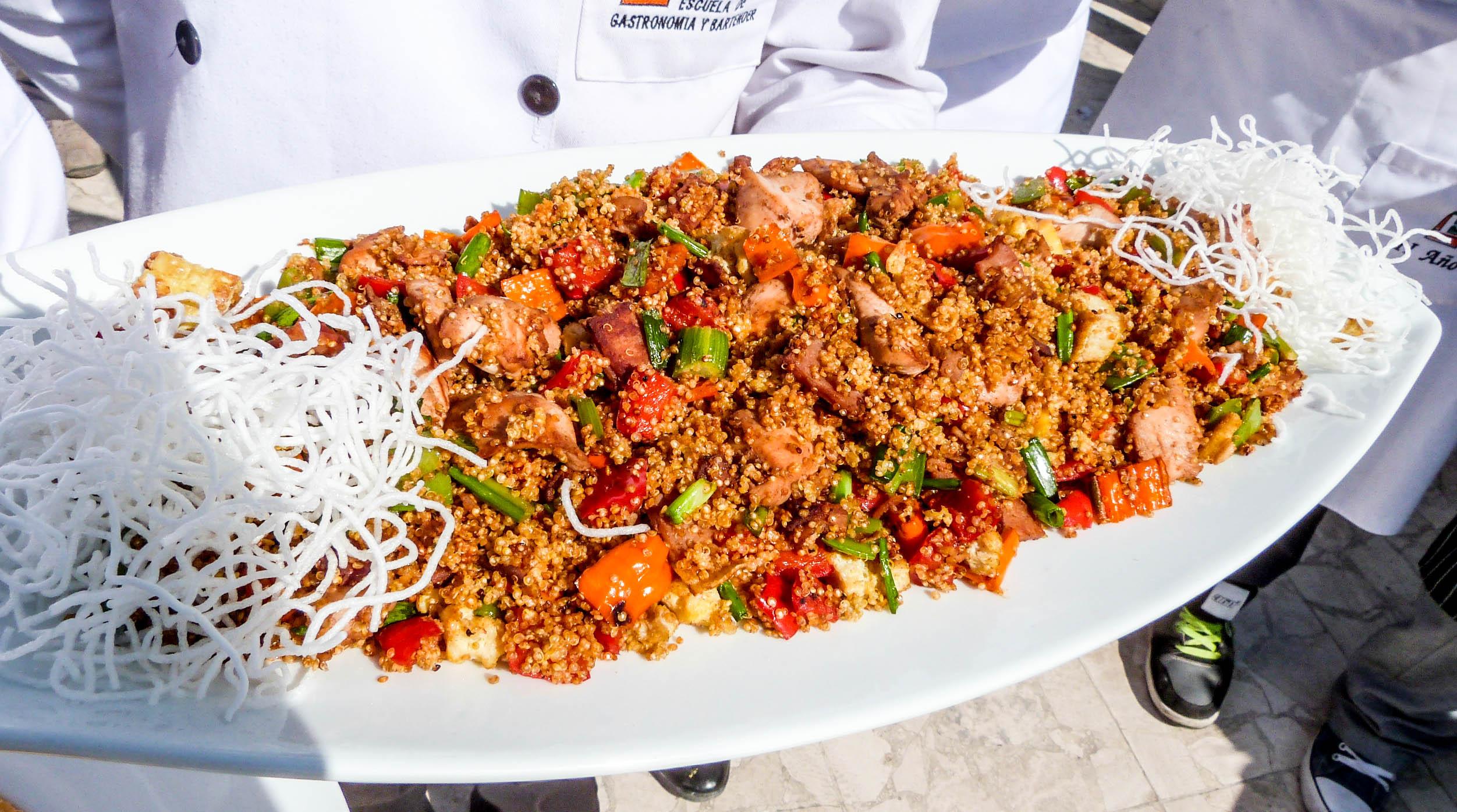 Promoverán consumo de granos andinos con evento 'Quinua Fusión'