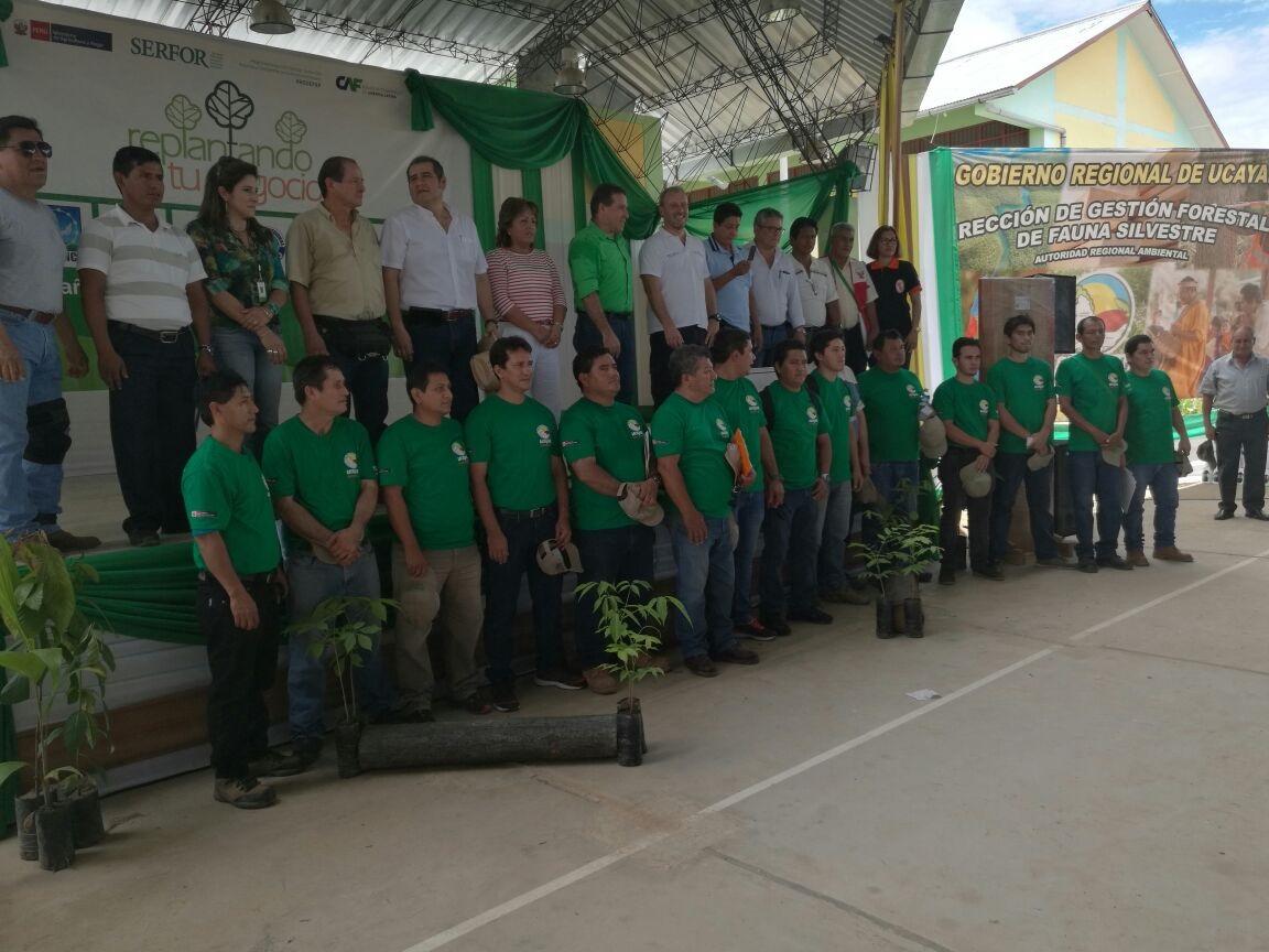 Se inicia en Ucayali el registro nacional de plantaciones forestales