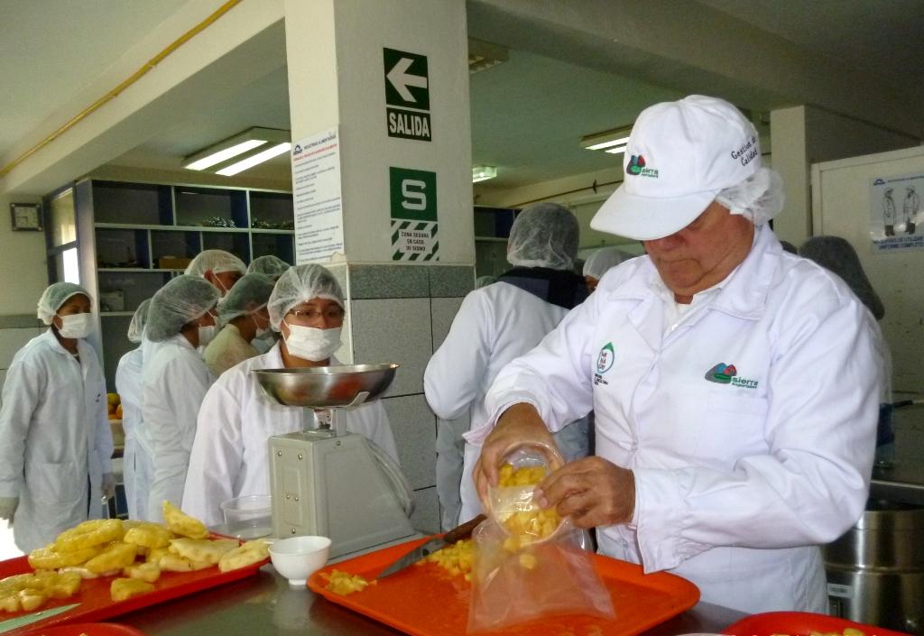 Productores fueron capacitados sobre uso de tecnologías innovadoras para procesamiento de frutas