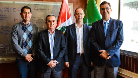 Empresa española colaborará en la formación de agrónomos en nuestro país