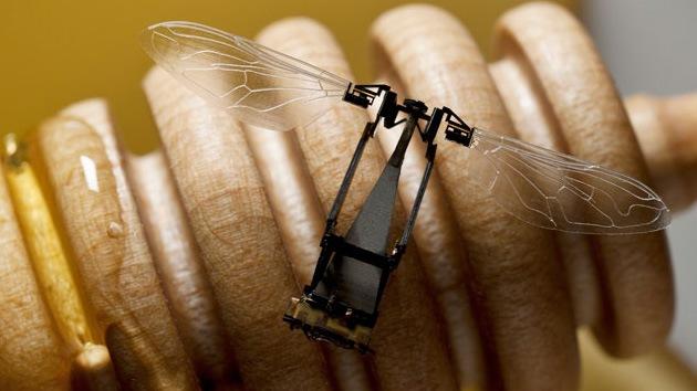 ¿Una abeja robótica puede sustituir a las reales en el proceso de polinización?