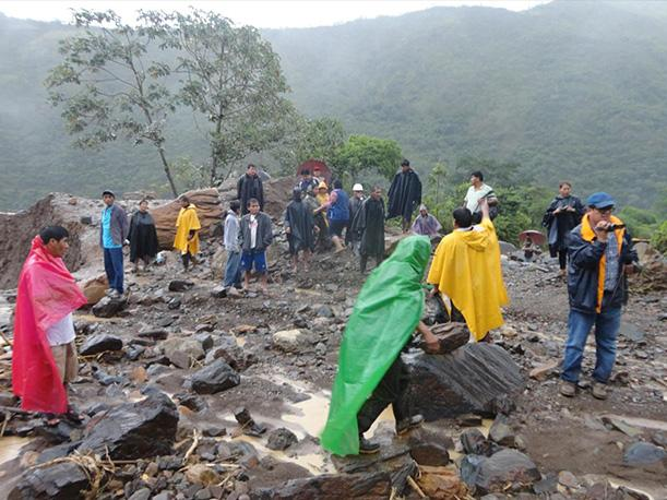 Senamhi prevé lluvias intensas en 10 regiones