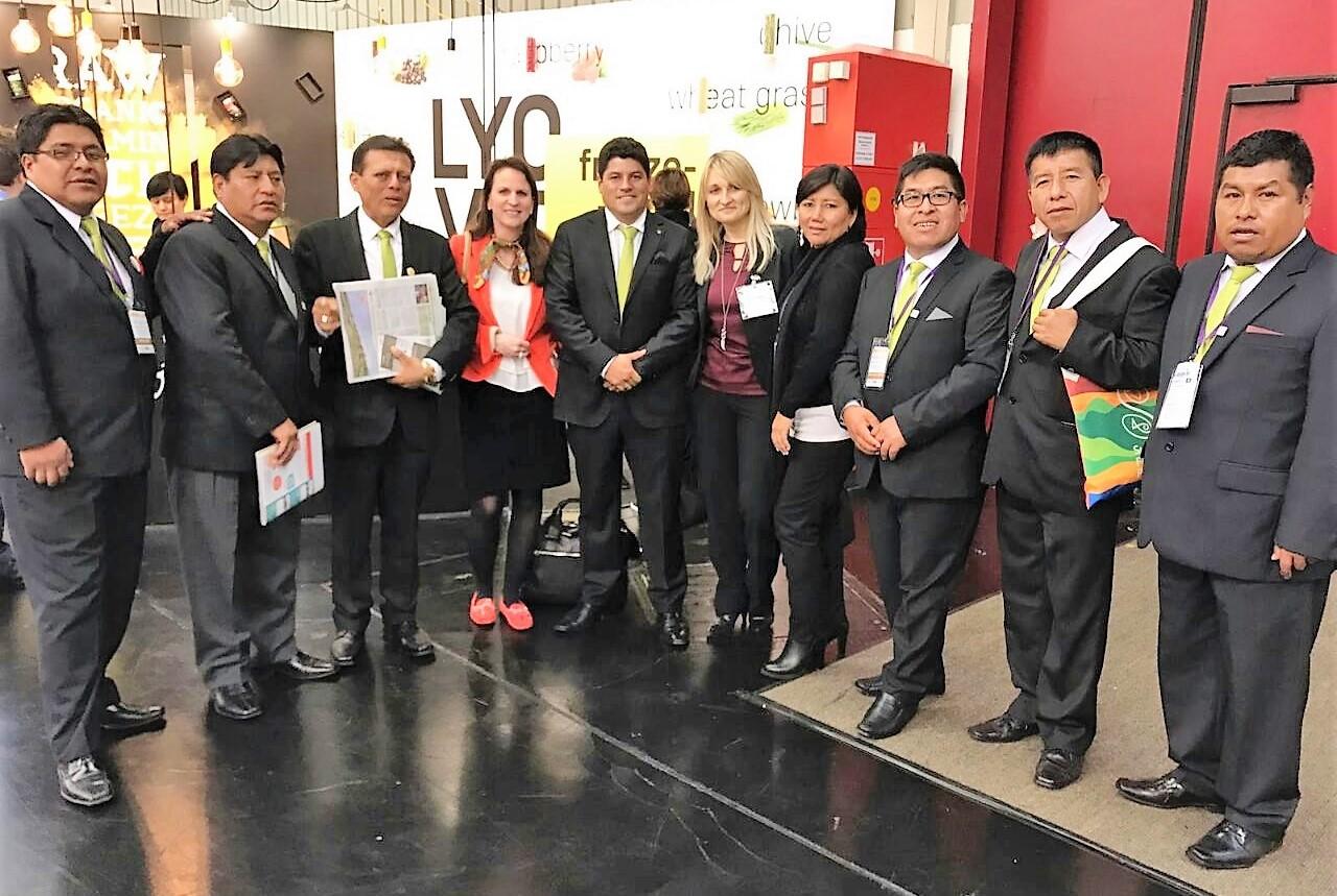 Alcaldes productivos en busca de mercados globales para productores organizados
