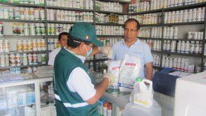 Senasa inspeccionó establecimientos de ventas de agroquímicos