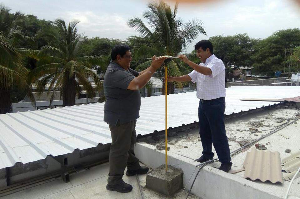 Instalan antena GPS para titulación de tierras en Piura