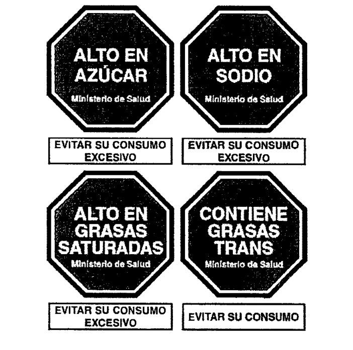 Minsa adelanta el diseño de advertencias para etiquetas de alimentos y bebidas