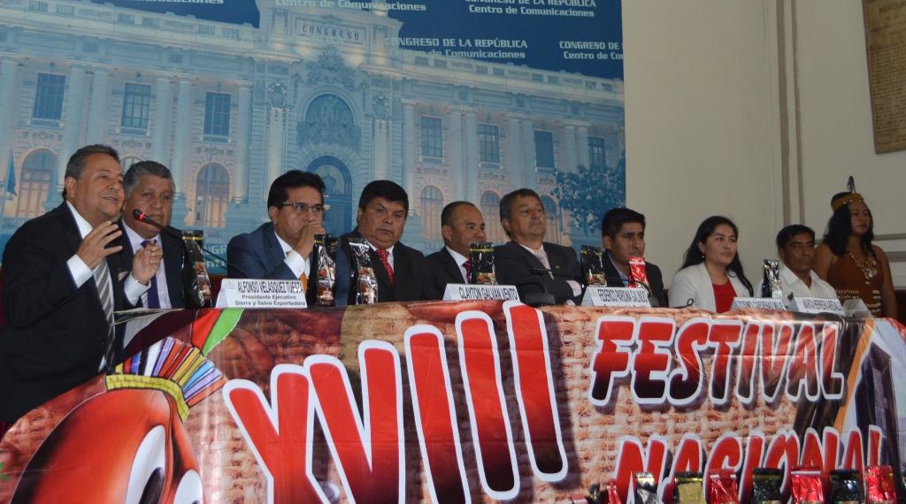 Lanzan el XVIII Festival Nacional del Café Pichanaki 2017