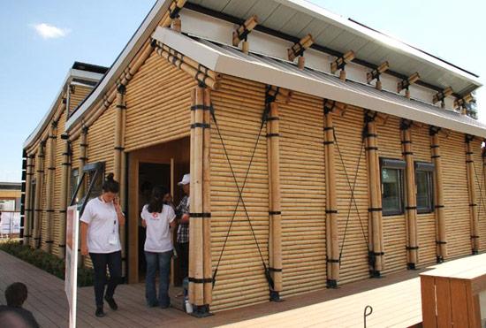 Proponen viviendas de bambú para damnificados por El Niño Costero