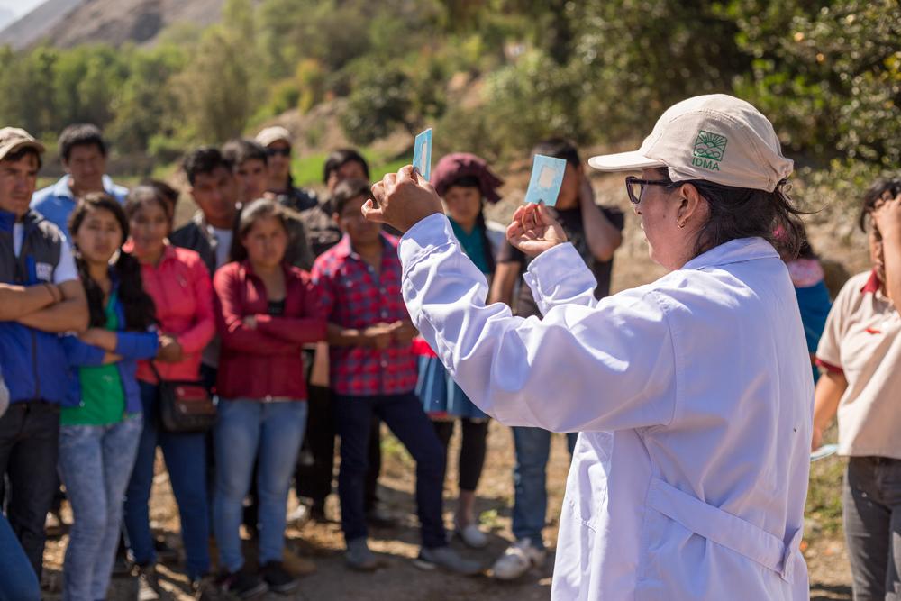 Organizan seminario sobre agronegocios en Lurín y otro sobre cadena de valor agroalimentaria en Ant...