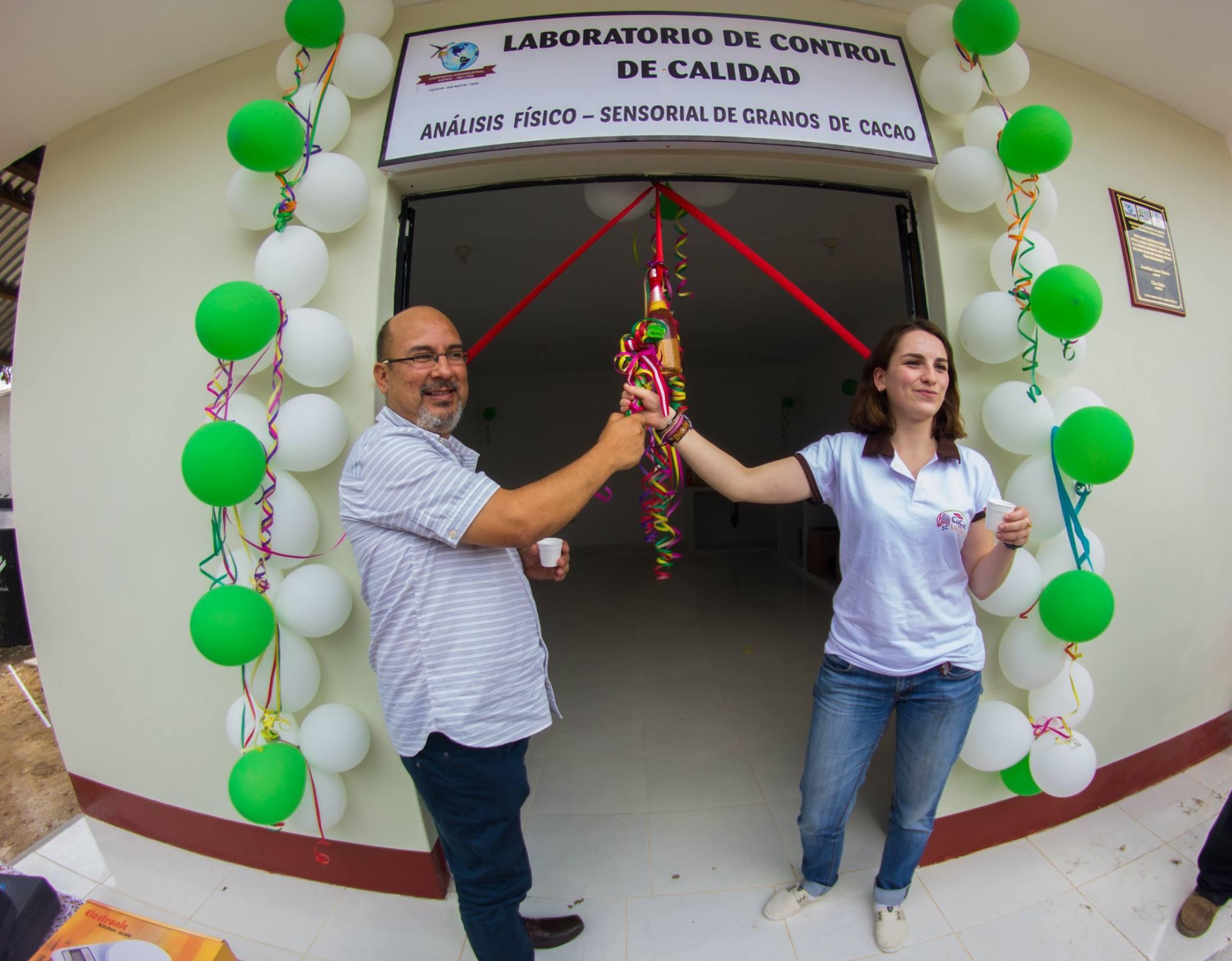 Cooperativa Asproc inauguró  laboratorio de análisis físico y sensorial de grano de cacao