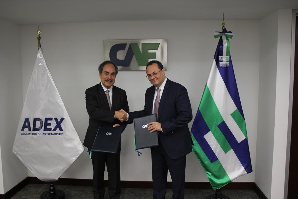 CAF y ADEX impulsarán internacionalización de productos peruanos