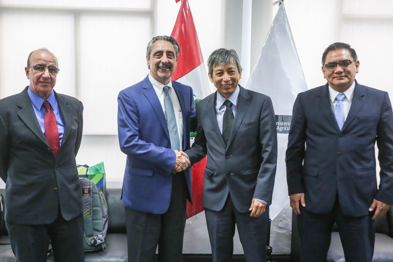 Minagri se reunió con delegación del APHIS de EE.UU. para mejorar acceso de espárragos