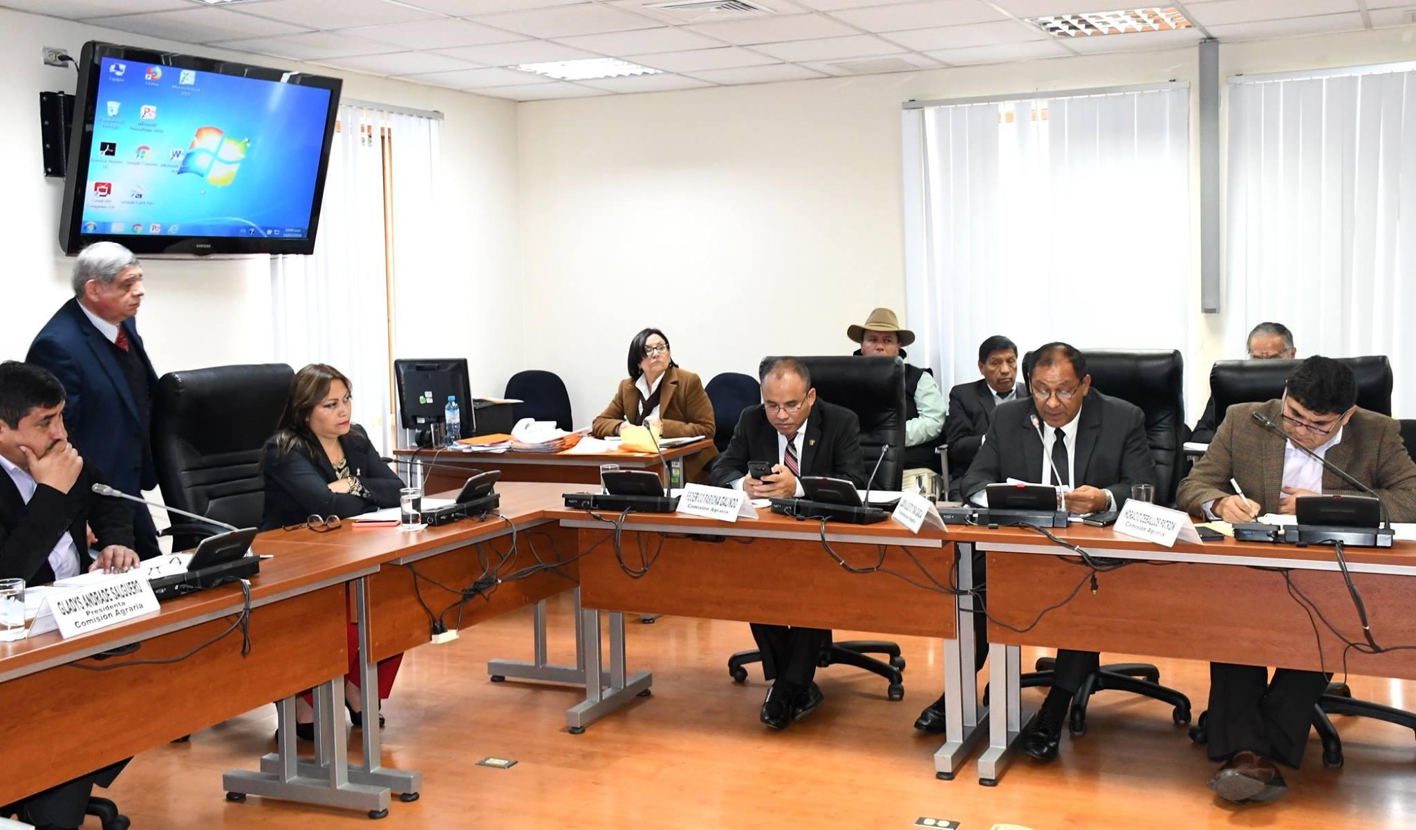Titulares del MEF y Minagri se presentarán mañana ante comisiones de Economía y Agraria del Congreso