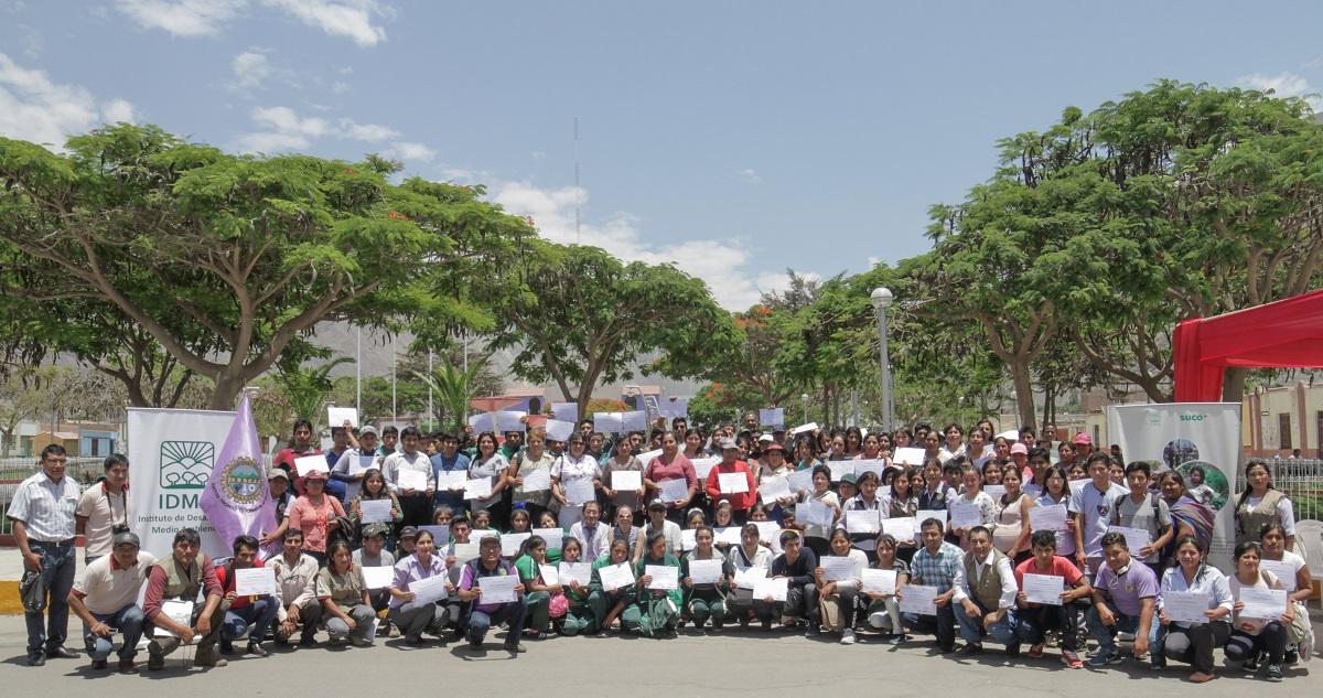 Más de 270 jóvenes se gradúan en temas de producción agropecuaria sostenible y emprendimiento