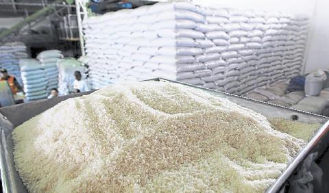 Importaciones de arroz cayeron 30% en los primeros ocho meses del año