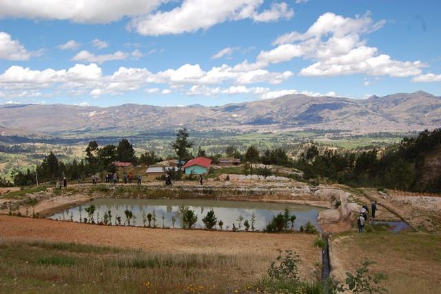 Comunidades campesinas recibirán 4.500.000 m3 de agua para riego de sus cultivos